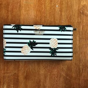 🍍 Kate Spade Pineapple Stacy Wallet